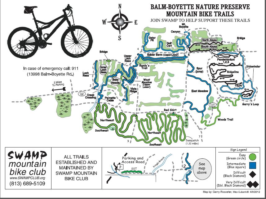 Balm Boyette Map