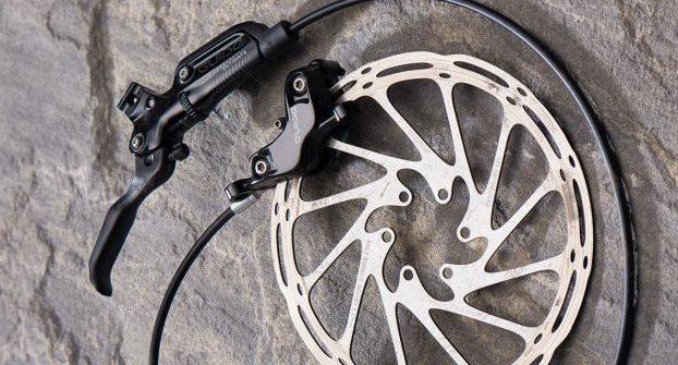 disc part of mountain bike disc brake