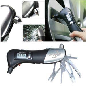 HFAN Multi Tool Digital Tyre Pressure Gauge