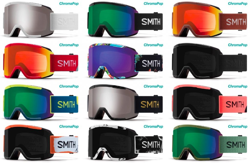 Smith MTB Goggles color range
