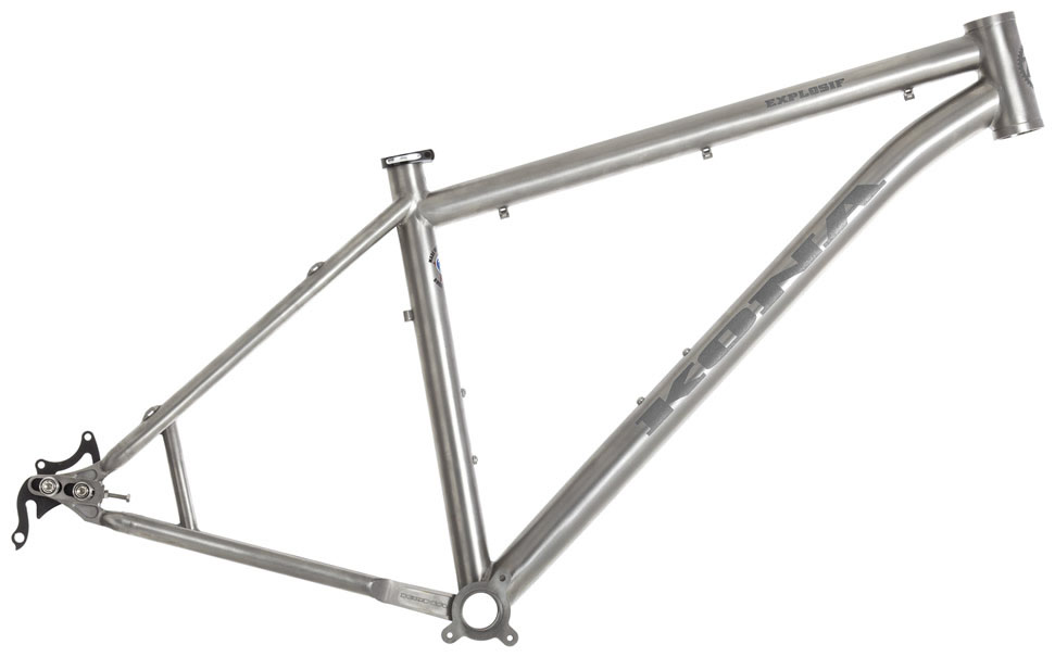 kona 2015 titanium built frame
