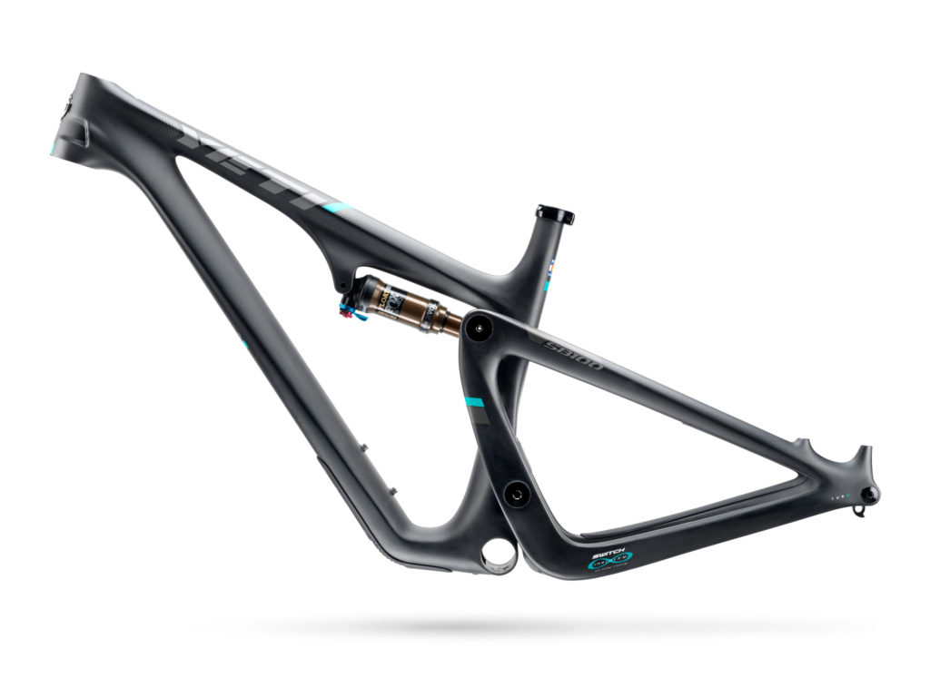 yeti carbon fiber mountain bike frame
