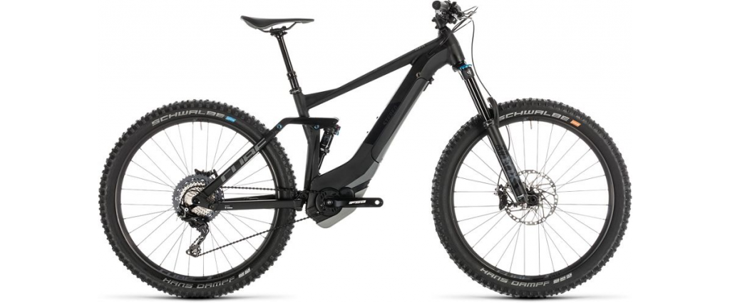 The Cube Streo Hybrid electric mountain bike